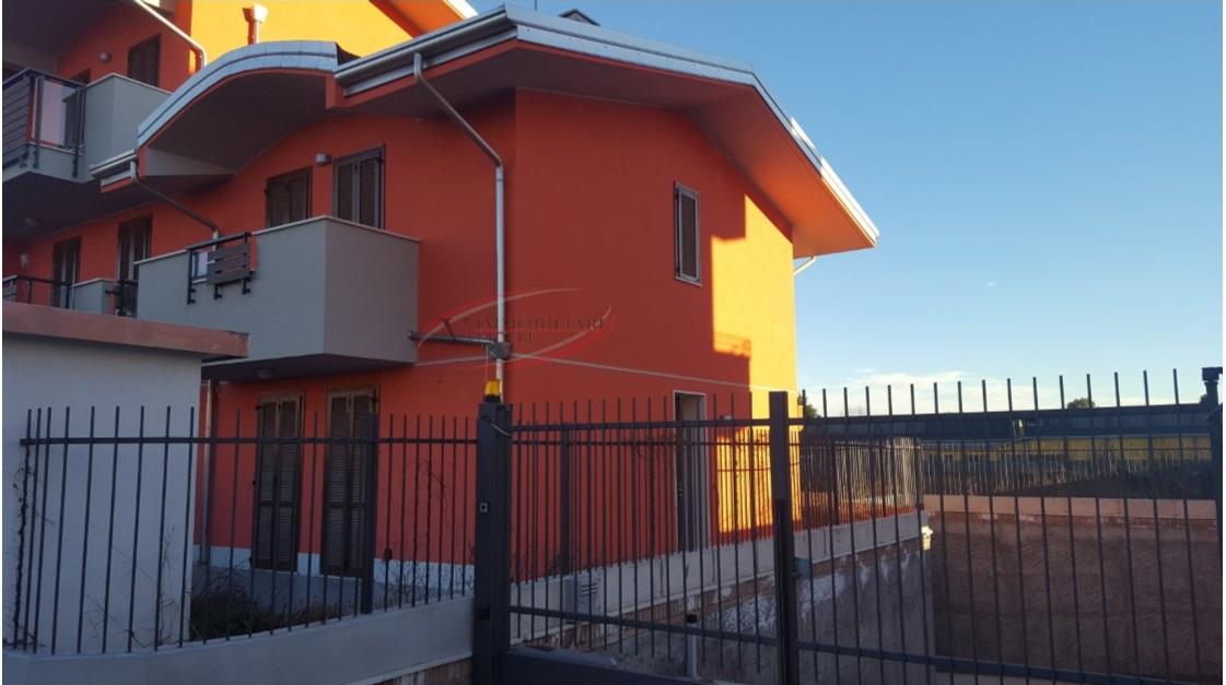 Villa in costruzione.